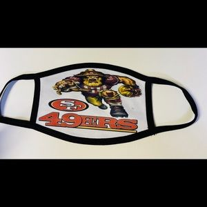 Unisex 49ers Adult face mask